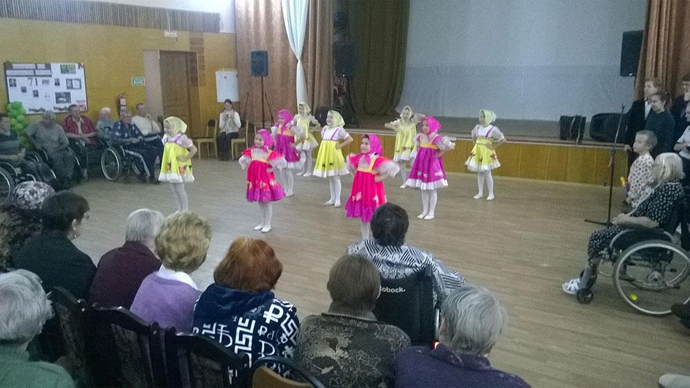 Отчет о проведении концертной программы в Доме ветеранов г.Тольятти