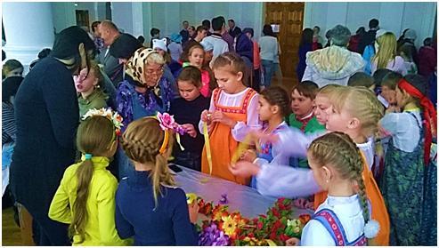 Участие в открытом епархиальном фестивале