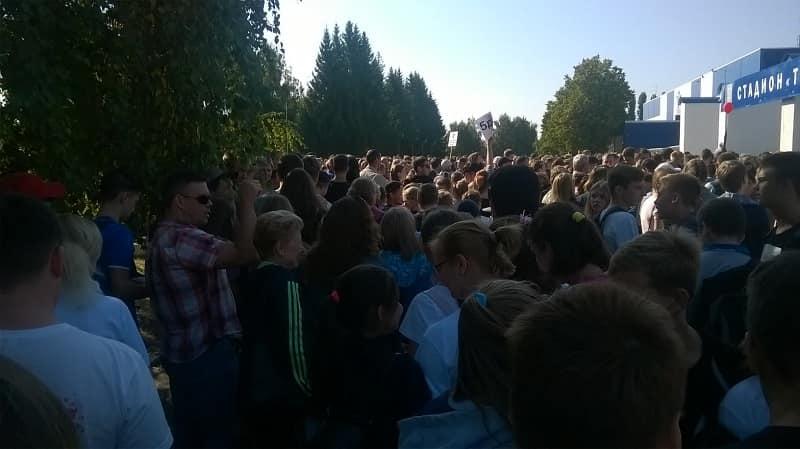 Общегородской день бега в рамках проведения Всероссийского праздника бега «Кросс Нации - 2017»