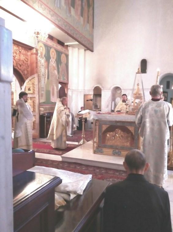 воскресная литургия 1
