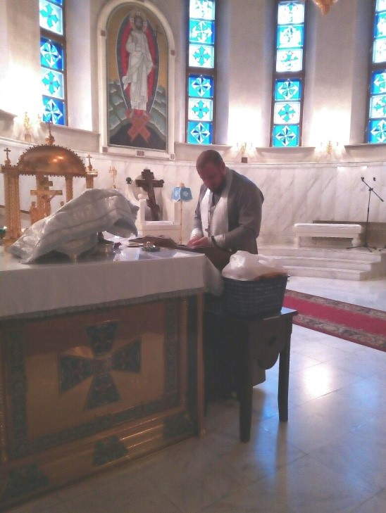 воскресная литургия 2