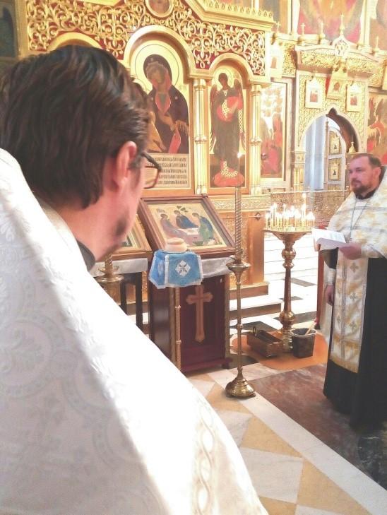 воскресная литургия 3