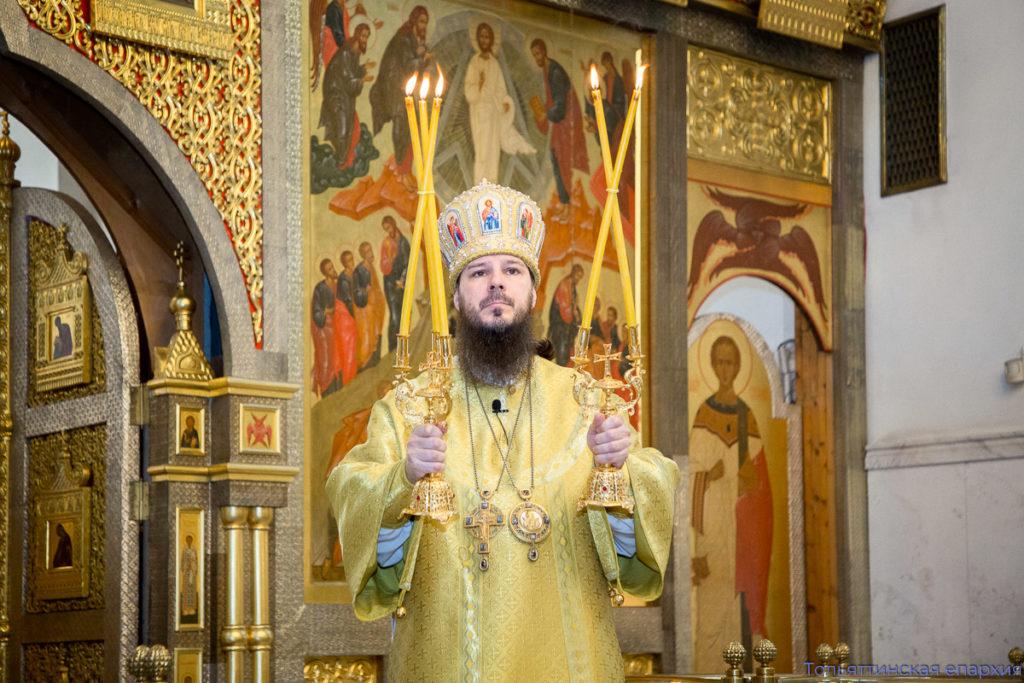 Верные чада Тольяттинской епархии поздравляют своего Архипастыря с юбилеем иерейской хиротонии