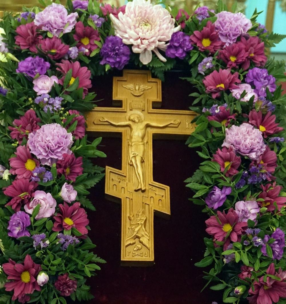 """""""Радуйся, живоносный Кресте, благочестия непобедимая победа..."""""""