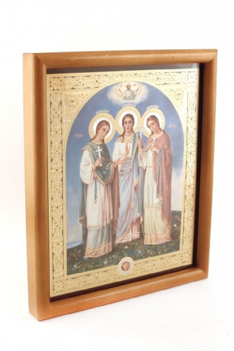 Икона святых дев-мучениц.