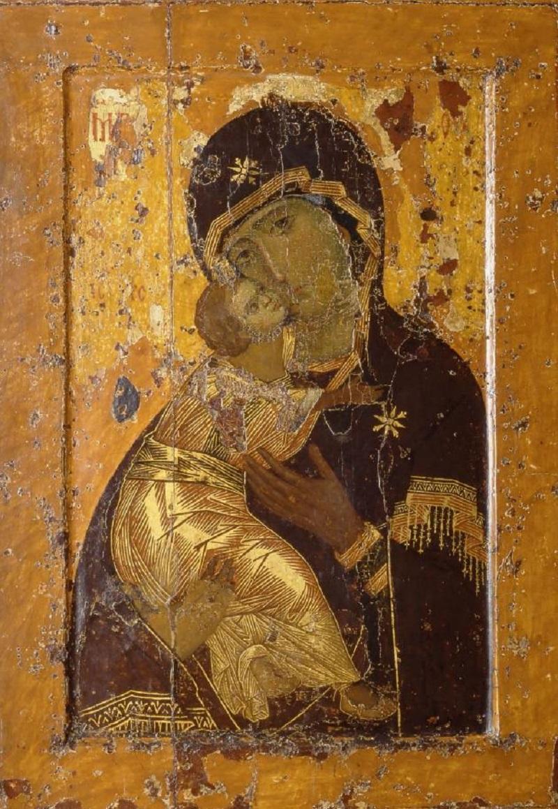 Радуйся, Пречистая, от иконы Твоея милости нам источающая!