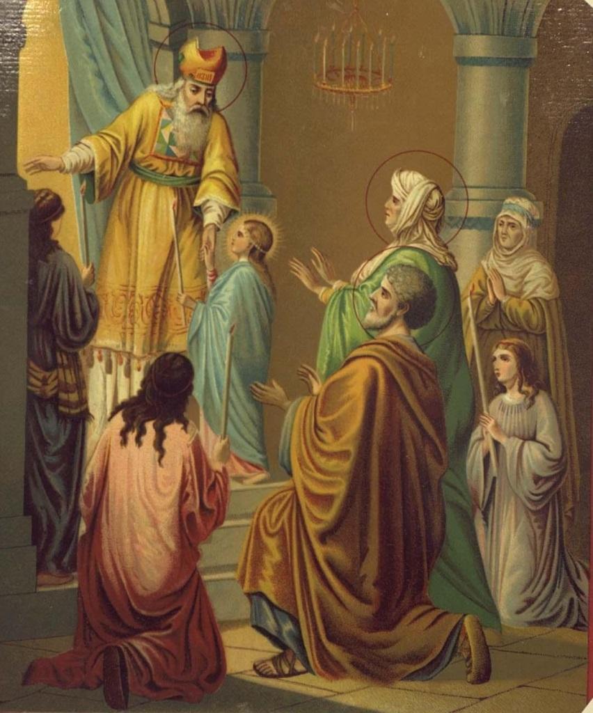 """Приидите вси вернии, едину Непорочную восхвалим..."""