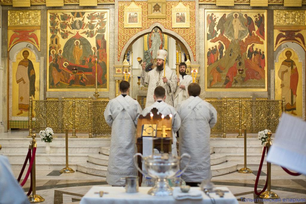 Архиерейское богослужение в праздник Богоявления