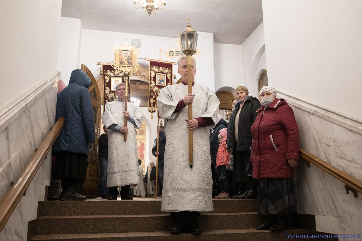 Совершилось Пасхальное богослужение