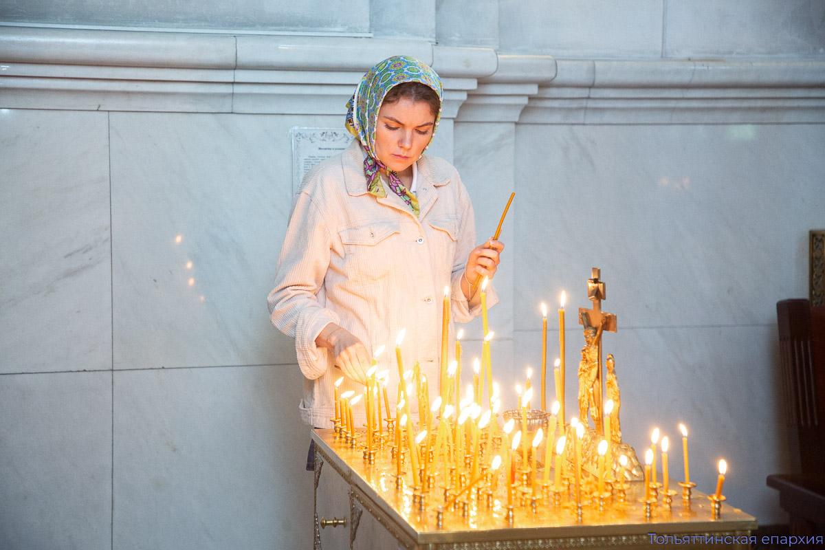 Благодарственный молебен в День Победы