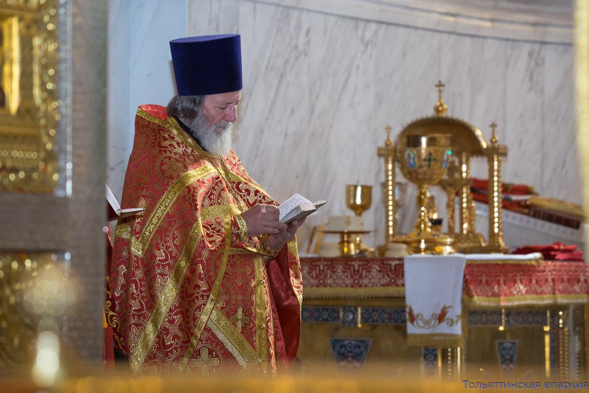 Епископ Нестор совершил Литургию в седьмую годовщину архиерейской хиротонии