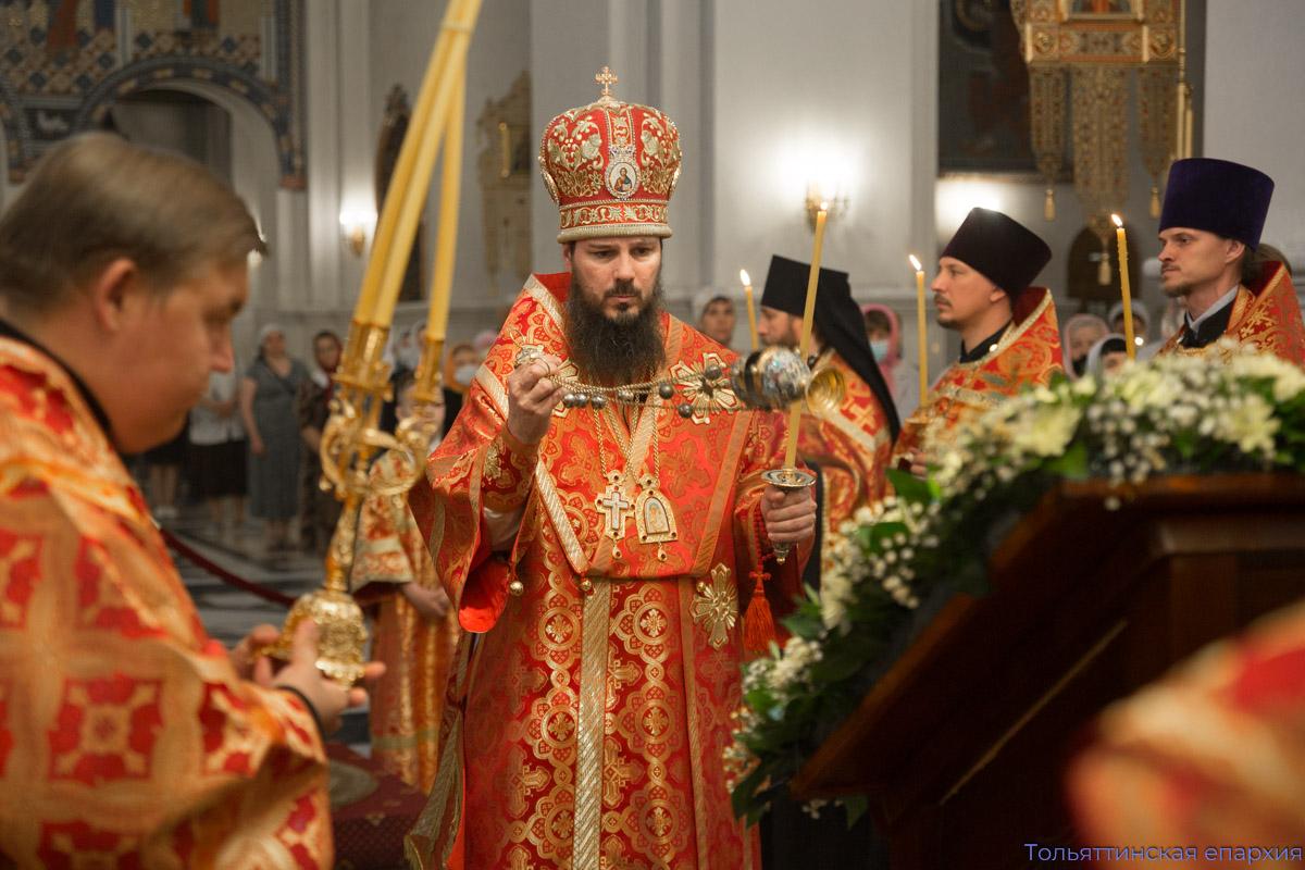 Всенощное бдение в честь святителя Николая