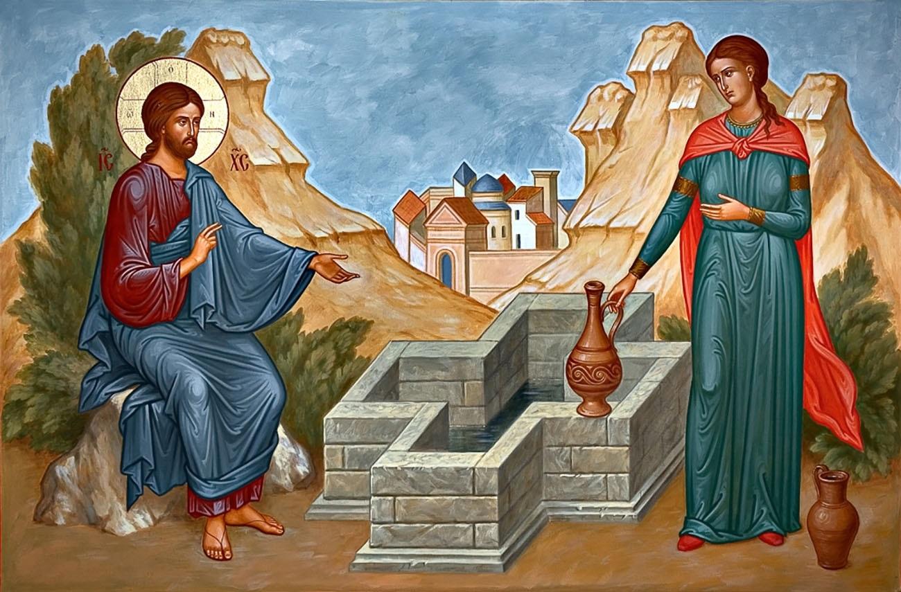Слово Архипастыря в Неделю о самарянке