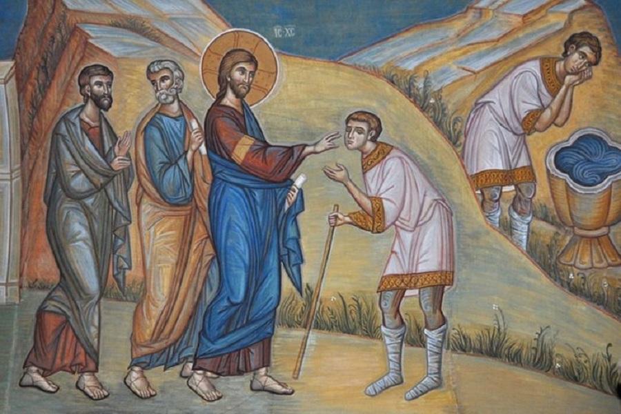Слово Архипастыря в Неделю 6-ой по Пасхе, о слепом