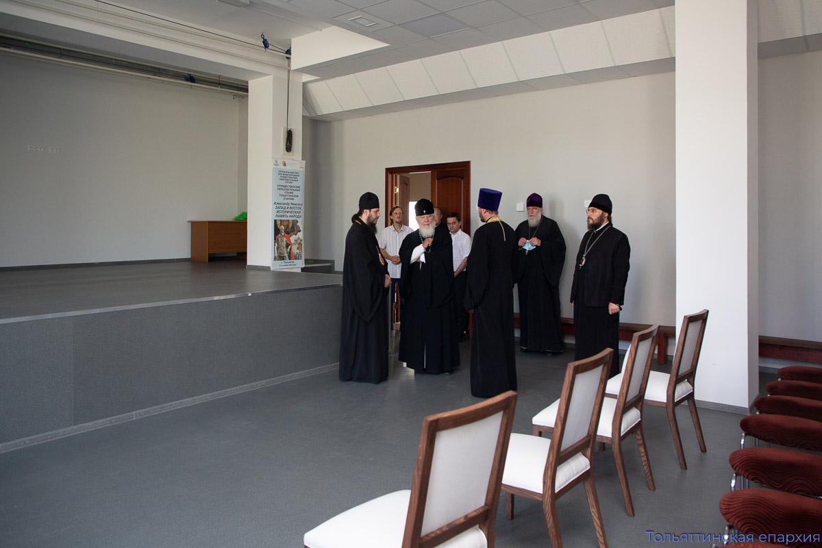 Визит главы Самарской митрополии в Тольятти в престольный день города